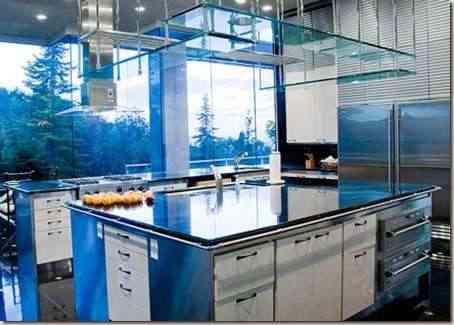 cocina moderna en grandes espacios -2