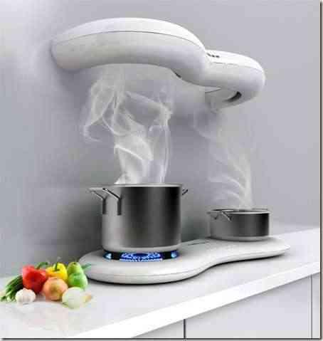 cocina moderna en grandes espacios -6