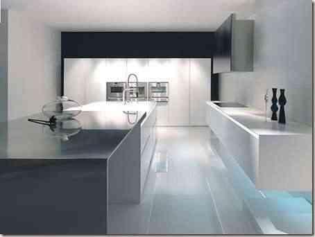 cocina moderna en grandes espacios -8