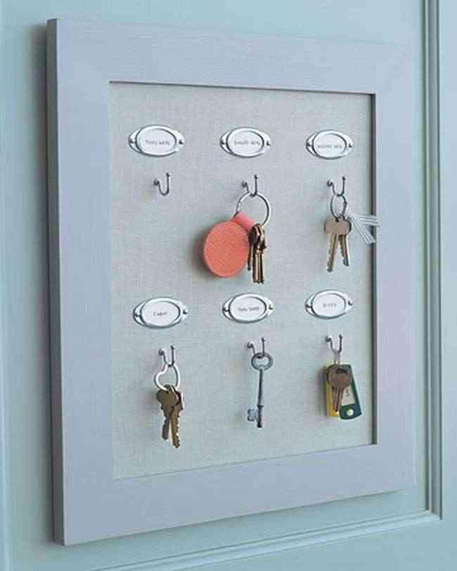 cuadro para llaves diy