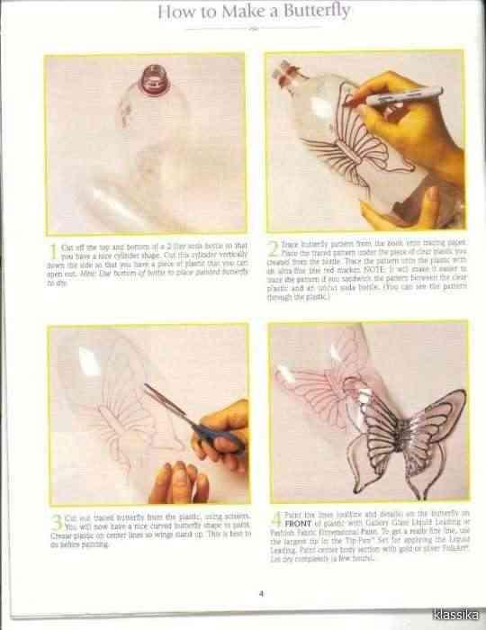 tutorial de cómo hacer mariposas