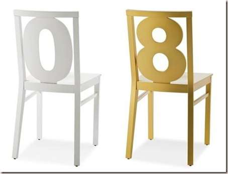 Furniture with numbers-2