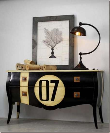 Furniture with numbers-7