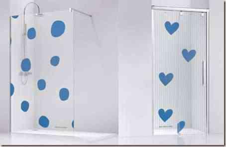 mamparas de baño decorativas -1
