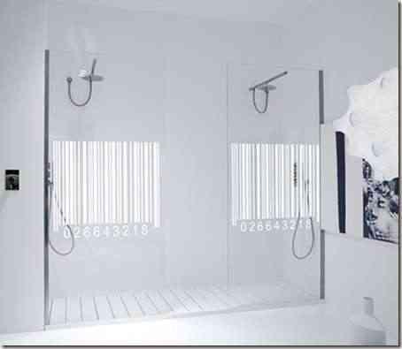 mamparas de baño decorativas -2
