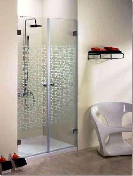 mamparas de baño decorativas -4