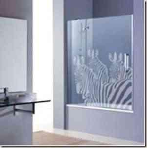 mamparas de baño decorativas -6