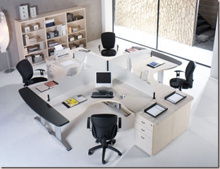 muebles vanguardistas para oficina
