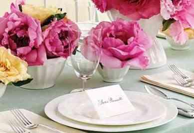 notas para decorar tu mesa