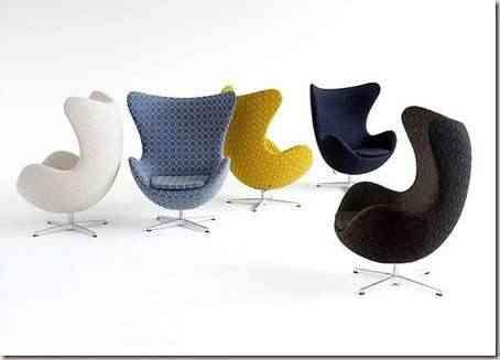 sillas decorativas y ergonomicas
