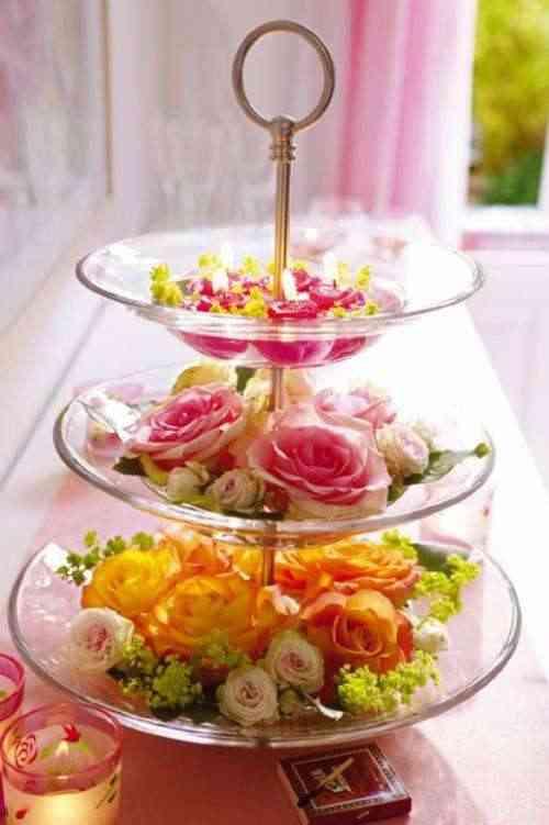 Centros De Mesa Para La Primavera - Centro-de-mesa-decoracion