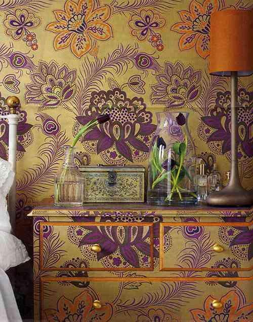 gracias a la increble variedad en el diseo del papel pintado que podemos ver en el mercado es fcil realizar hermosas para las estancias