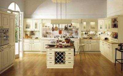 Cómo decorar cocinas amplias