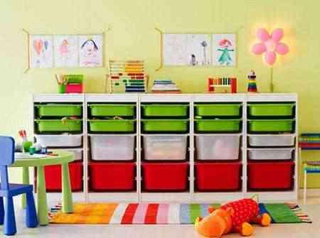Habitaciones de niños: decoración y orden