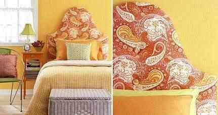 Coloridas cabeceras para tus camas - Cuadros como cabeceros de cama ...