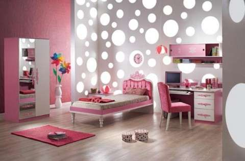 Tips for decorating rooms for teenage girls