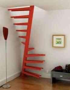 en esta ocasin vemos en la imagen una escalera en forma de caracol se encuentra diseada por lapeyre stair ahorraremos metros cuadrados ya que puede
