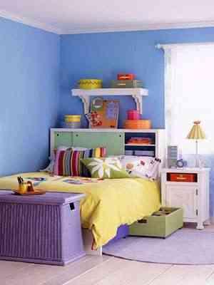 Decoraci n infantil y el orden en la habitaci n - Organizar habitacion infantil ...