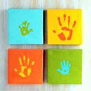 Decoración con manos para habitaciones de niños