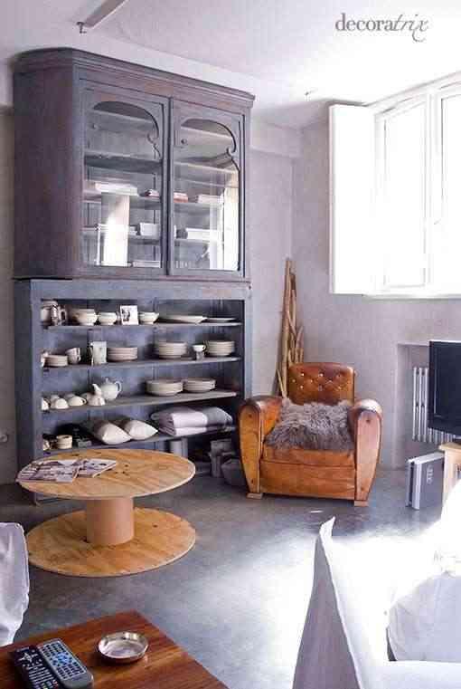 algunos muebles reciclados La implementación de la restauración y
