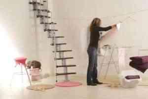 para espacios reducidos o para reemplazar una escalera que lleve a cualquier desvn este diseo es ideal y de reducidas dimensiones