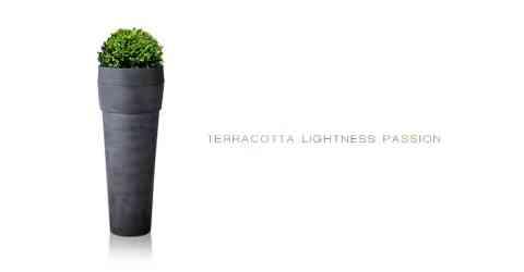 Macetas Terra3 de Deroma