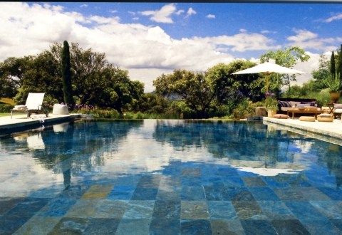 Piscina de colores patchwork