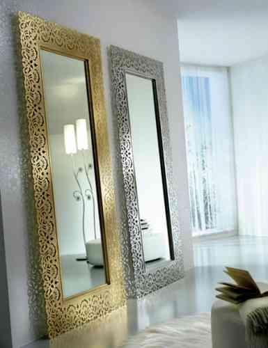 Cómo usar los espejos como parte de la decoración