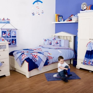 Decoration of rooms for children and babies