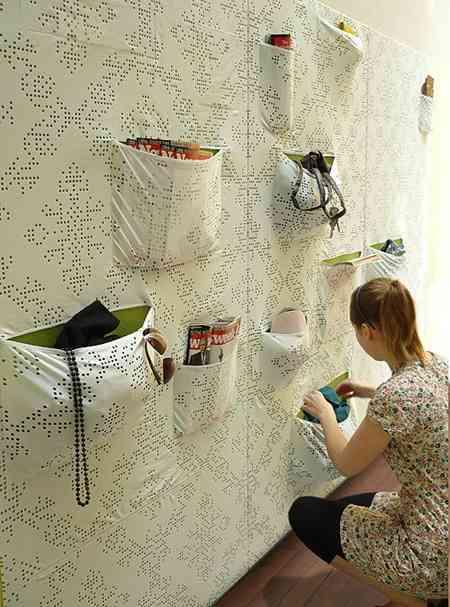 ideas para almacenar en la decoracion