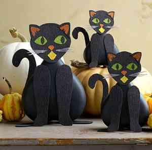 Decoracion Gato Halloween