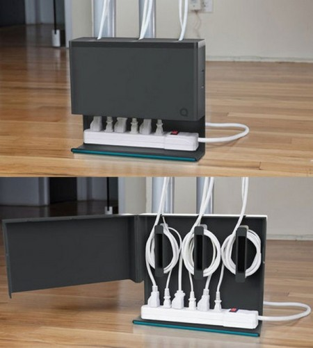 Hide cables in the decoration-12