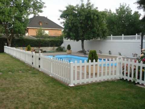 valla Piscina Deck and vinyl