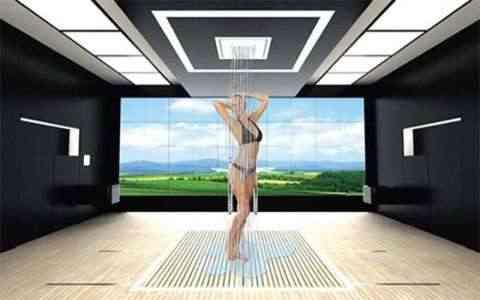 Diseño y decoración de interiores de un baño del futuro