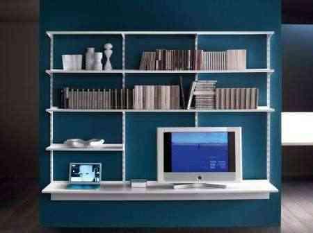 Mueble y estantería de lujo y fino