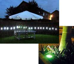 Outdoor night lighting