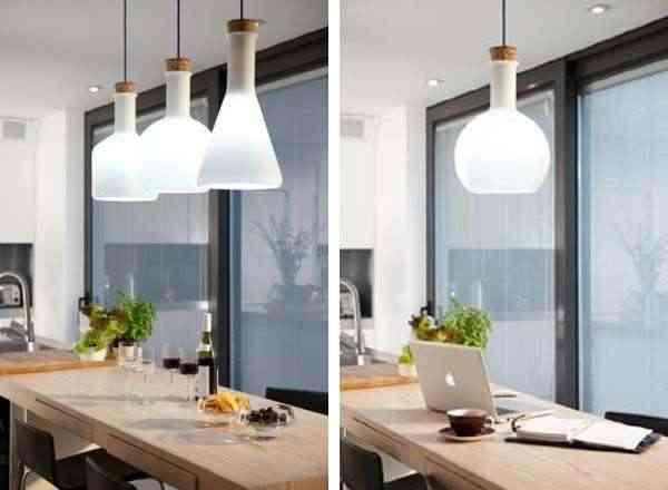 Pon qu mica en tu cocina serie de luces - Luminarias para cocinas ...