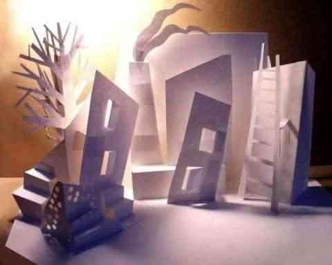 arte y decoracion en papel