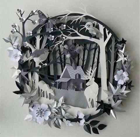 arte y decoracion en papel-9