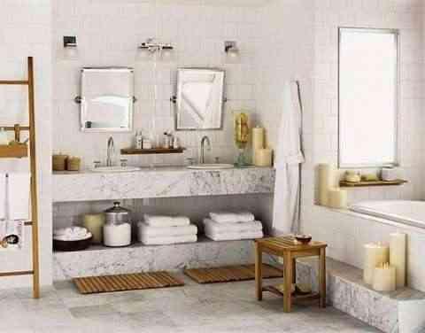 Decoración de cuartos de baño pequeños