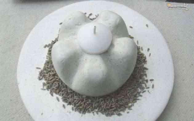 candelabro de yeso 14