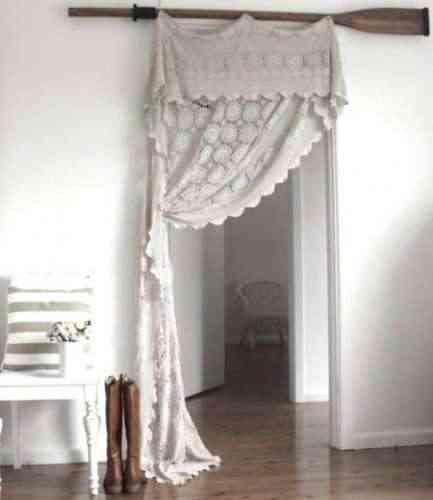 de colcha a cortina