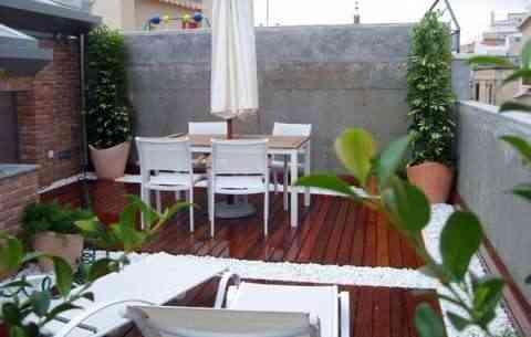 Decoration of terraces