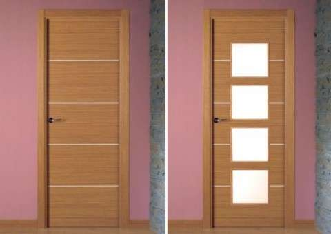 Interior doors in decoration