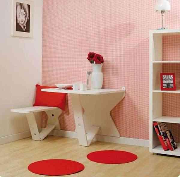 Mesa retr ctil para espacios reducidos - Mesas para espacios pequenos ...