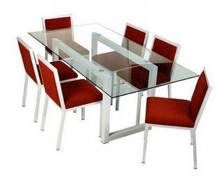 Vidrio mesas que enamoran soluciones de vanguardia for Comedores en concepcion