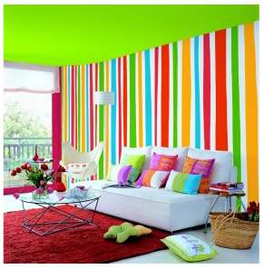 Decoración de interiores con colores