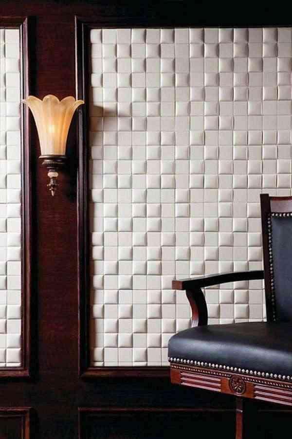 azulejos de cuero blancos