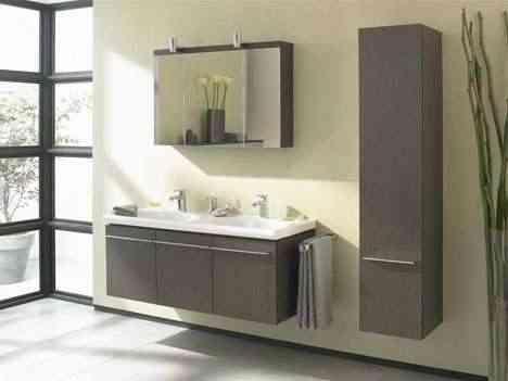 Decoración de baño: Consejos para escoger armarios de baño