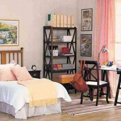 Decoración de un dormitorio femenino